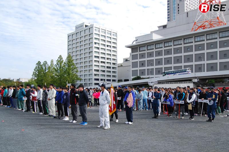 広島市内の各事業所から222チーム・502名が集結。