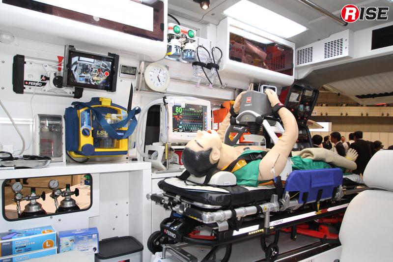 パラメディックコンセプトの患者室。