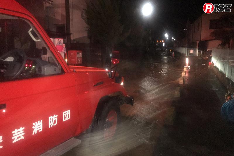 広島に戻ってすぐに消防団活動を開始。