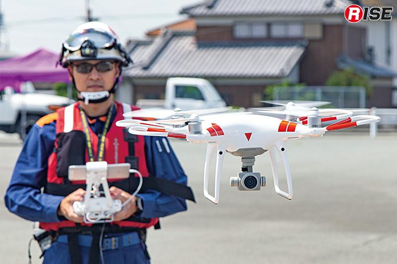 平成31年4月からドローンの運用を開始した松阪地区広域消防組合消防本部。今後もパイロットや機種の増強、物件投下といった活動内容の拡充を目指して行く方針だ。