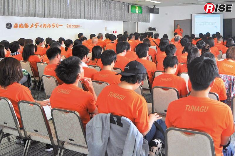 2日目には講演が行われ、参加者たちは知識を深めた。