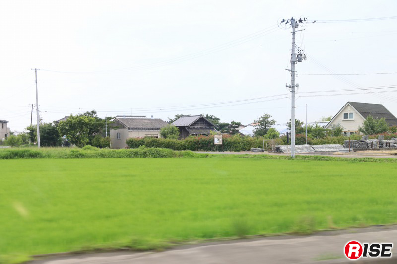 仙台東部道路・名取IC付近の5年後の様子。