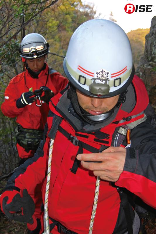 あらかじめ伝えられた緯度経度情報を頼りにターゲットを捜索する訓練。