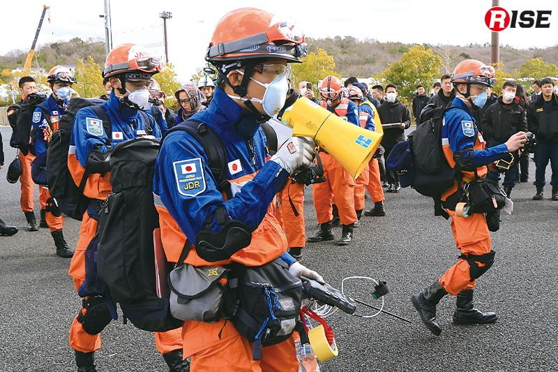 2個小隊により救助活動を行う可能性があるサイトの特定を行うASR2が実施される。