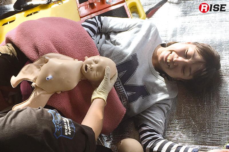 【周産期シナリオ】 生まれた子供を接触させ、母親を安心させる。