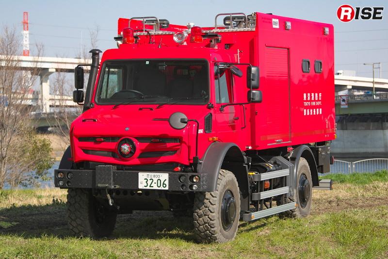 高機動救助車(活動型) [写真提供:東京消防庁]