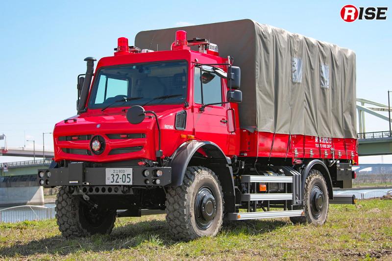 高機動救助車(搬送型) [写真提供:東京消防庁]