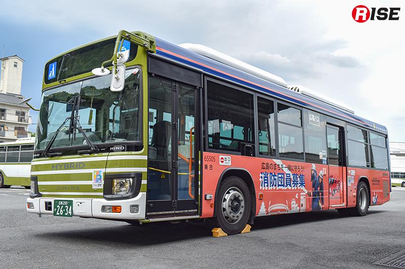 令和3年1月31日(日)まで運航されるラッピングバス。