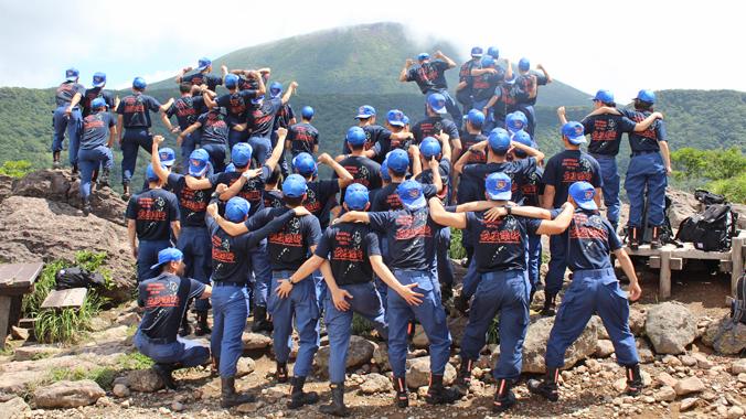 鹿児島県消防学校 第78期 初任教育 様 事例画像1