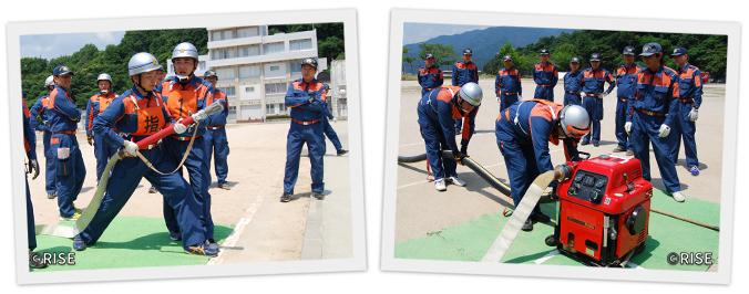 広島市消防団訓練指導員連絡協議会 様 事例画像3