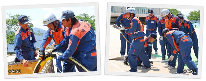 広島市消防団訓練指導員連絡協議会 様 事例画像4