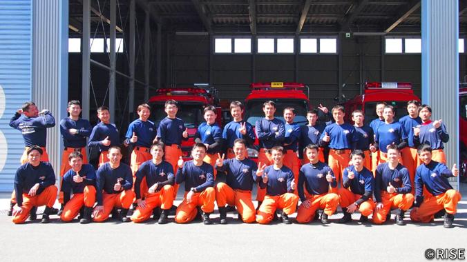 山梨県消防学校 第18期 専科教育 救助科 様 事例画像1