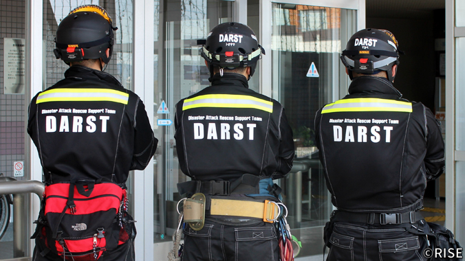 消防職員災害ボランティアチーム DARST 様 事例画像1
