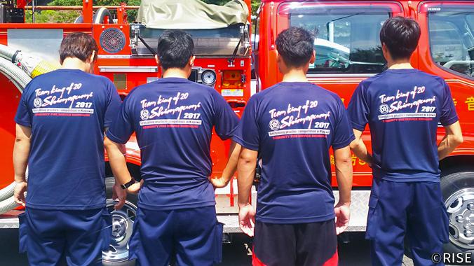 観音寺市消防団 第5方面隊 下組分団 様 事例画像1