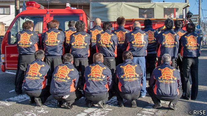 静岡市消防団 第14分団 様 事例画像1