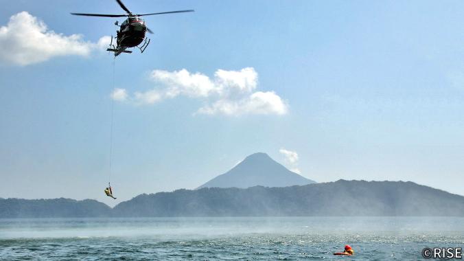 鹿児島県防災航空隊 様 事例画像1