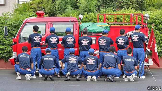 八千代市消防団 第3分団 様 事例画像1