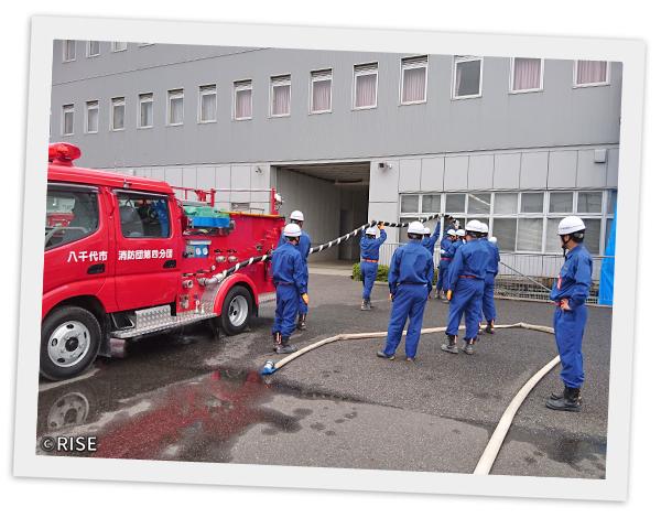 八千代市消防団 第3分団 様 事例画像8