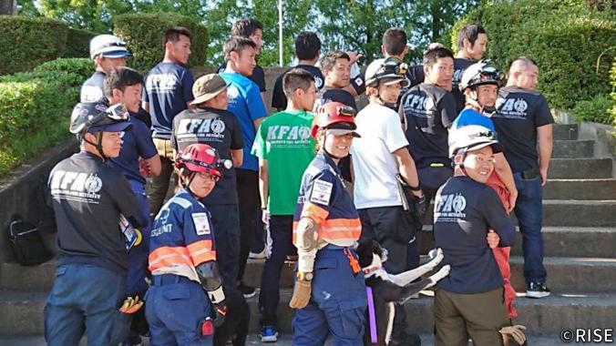 熊本県消防有志の会 KFA 様 事例画像1