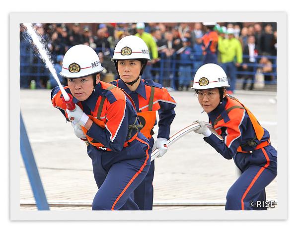 南魚沼市消防団 女性消防隊 様 事例画像3