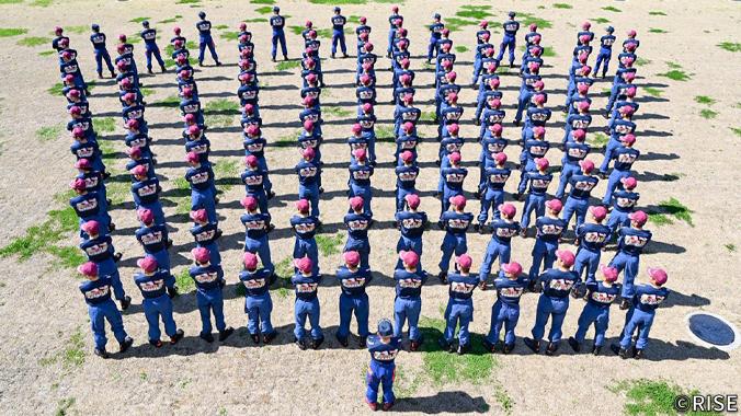 千葉県消防学校 第169期 初任教育 様 事例画像1