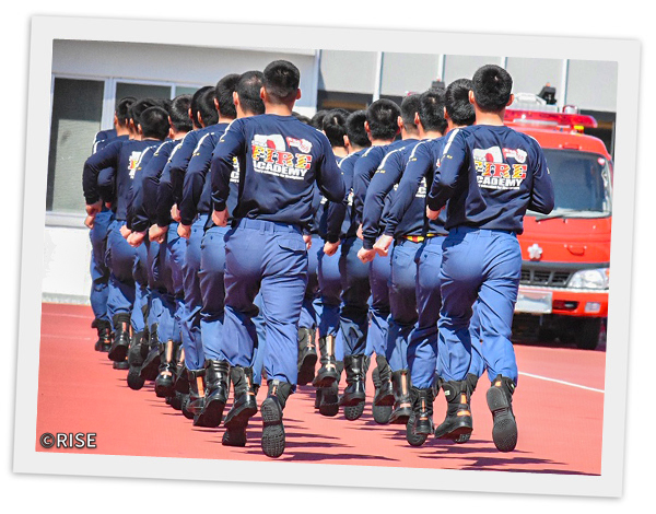 千葉県消防学校 第169期 初任教育 様 事例画像3