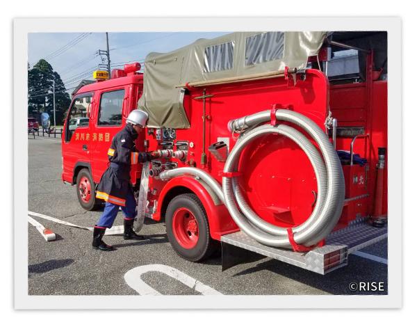 滑川市消防団 北加積分団 様 事例画像5