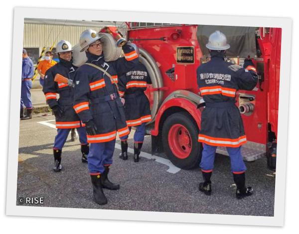 滑川市消防団 北加積分団 様 事例画像6
