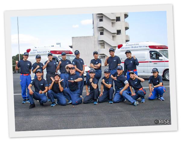 三重県消防学校 第23期 専科教育 救急科救急課程 様 事例画像1