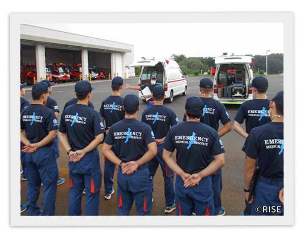 三重県消防学校 第23期 専科教育 救急科救急課程 様 事例画像2