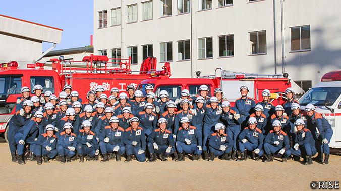 奈良県消防学校 第51期 初任教育 様 事例画像1