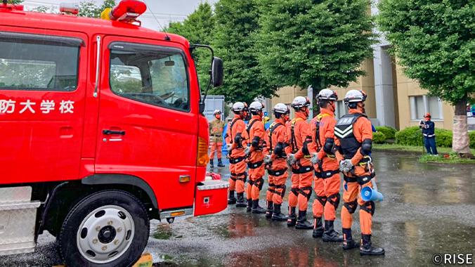 消防大学校 専科教育 救助科 第82期 様 事例画像1