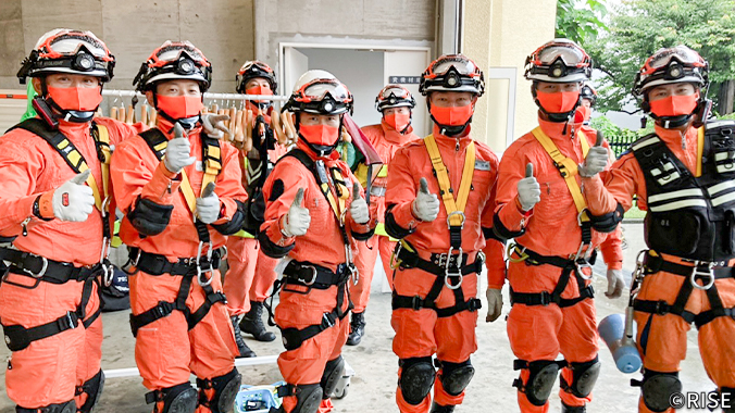 消防大学校 専科教育 救助科 第82期 様 事例画像2