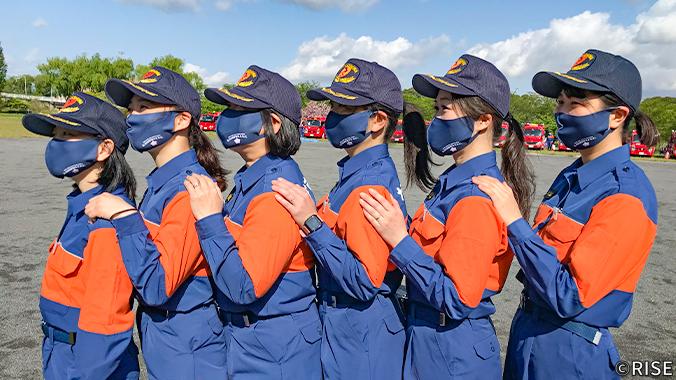柏市消防団 女性分団 様 事例画像2